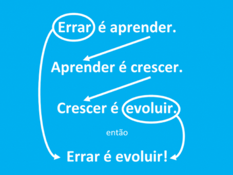 ERRAR É EVOLUIR