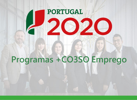 +CO3SO Emprego – Incentivos ao Emprego e ao Empreendedorismo
