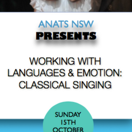 NSW Event: Working with Languages and Emotion