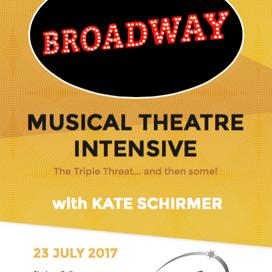 BROADWAY: Musical Theatre Intensive with Kate Schirmer