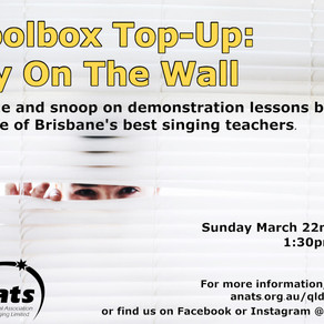 22 Mar 2020 | Toolbox Top-Up - Fly On the Wall | ONLINE EVENT