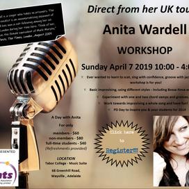 SA & NT EVENT: Anita Wardell Workshop
