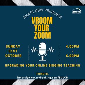 31st Oct 2021 | ONLINE | Vroom Your Zoom