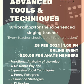 28th Feb 2021 | ONLINE | Advanced Tools & Techniques