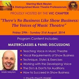 MUSIC THEATRE EVENT featuring Mark Meylan