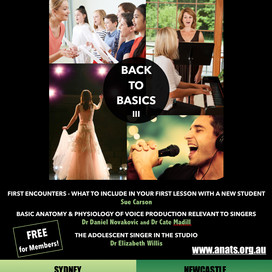 Back To Basics III: Sydney & Newcastle