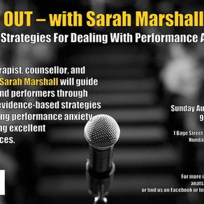 QLD EVENT: Freak Out with Sarah Marshall