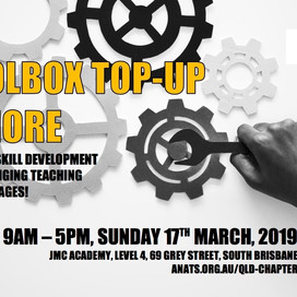QLD EVENT: Toolbox Top-up & More