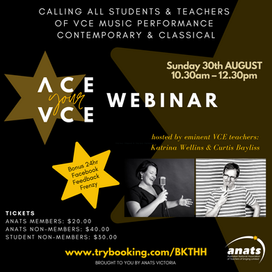 30th Aug 2020 | ONLINE | Ace your VCE