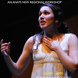 NSW Regional Event - The Emotive Voice in Music Theatre