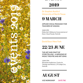 VIC Events 2019