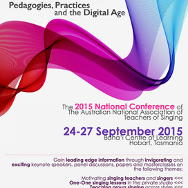 Past Event: CONFERENCE PROGRAM & PRESENTER ABSTRACTS Now Available for Singing Futures: Pedagogi