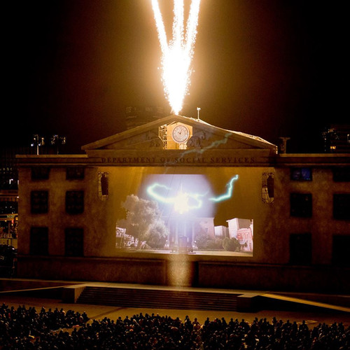 Back to the Future, Secret Cinema