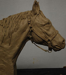 Lanny Johnson Horse Sculpture