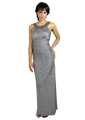 longue robe style grecque, taille empire