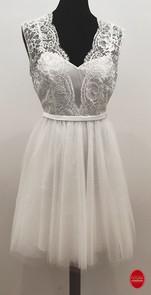 Robe de mariée de courte__Mariage civil_
