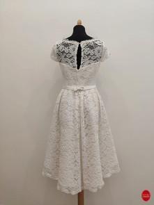 Robe de mariée en dentelle de coton_ Mar