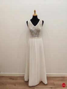 Robe de mariée longue - Alberta C_devant