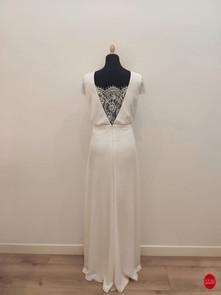 Robe de mariée longue coupe bohème_dos.j