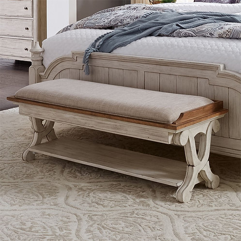 Farmhouse Reimagined Bed Bench