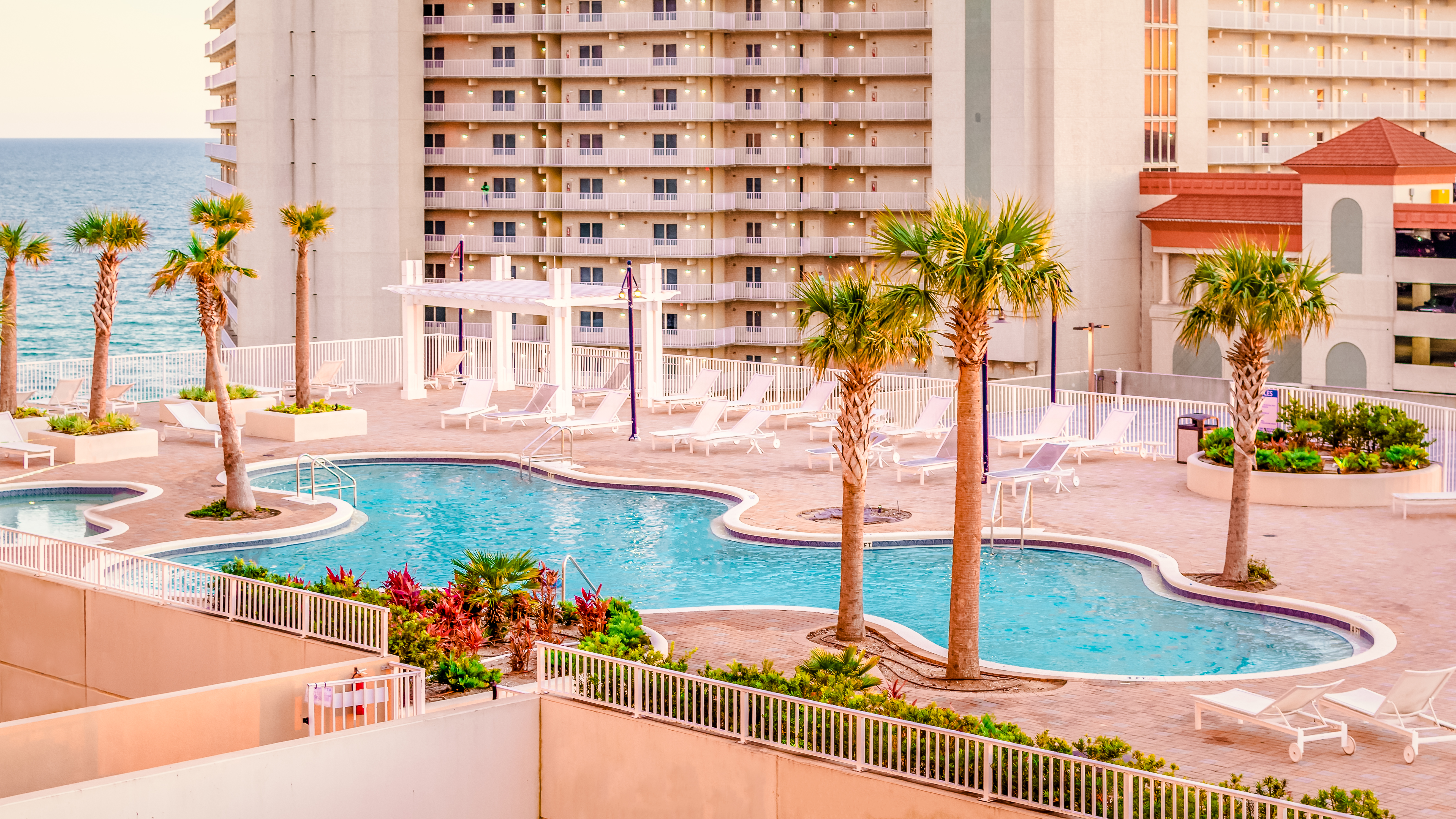 Rooftop Pool at The Laketown Wharf