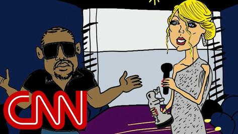 Kanye and Taylor Swift