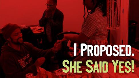 I got Engaged!
