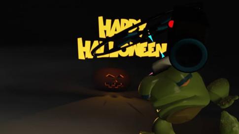 Tracey and Spike do Halloween (2018)
