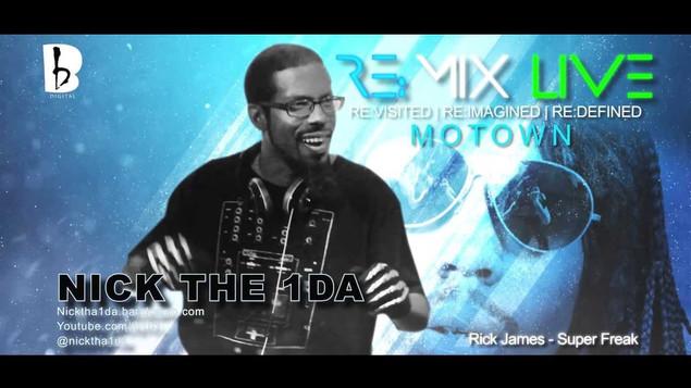 Remix Live Motown
