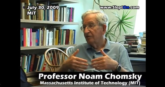 Interview w/ Noam Chomsky pt. 3 (2009)