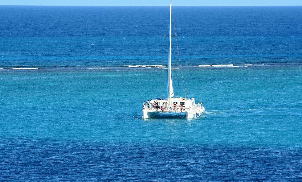 Da Trinidad: In catamarano a Cayo Blanco del Sur
