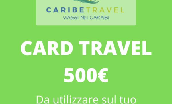 Card del valore di 500 €.