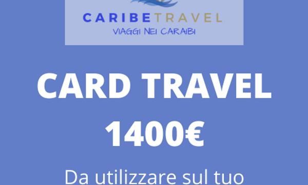 Card del valore di 1400 €