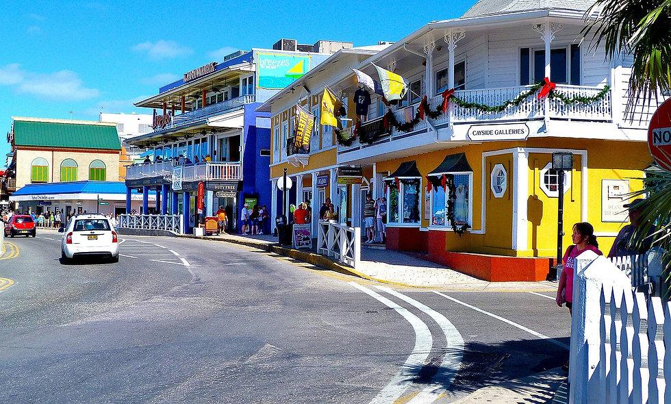 Tour panoramico della West Bay con visita alla Seven Mile Beach