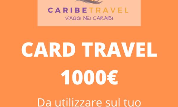 Card del valore di 1000 €.