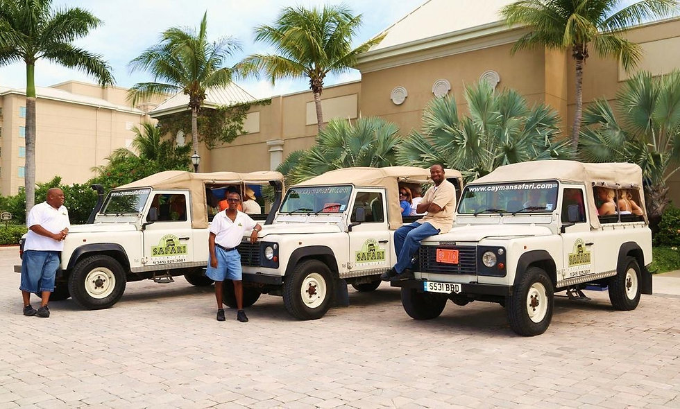 Grand Cayman, West Bay Tour in Land Rover