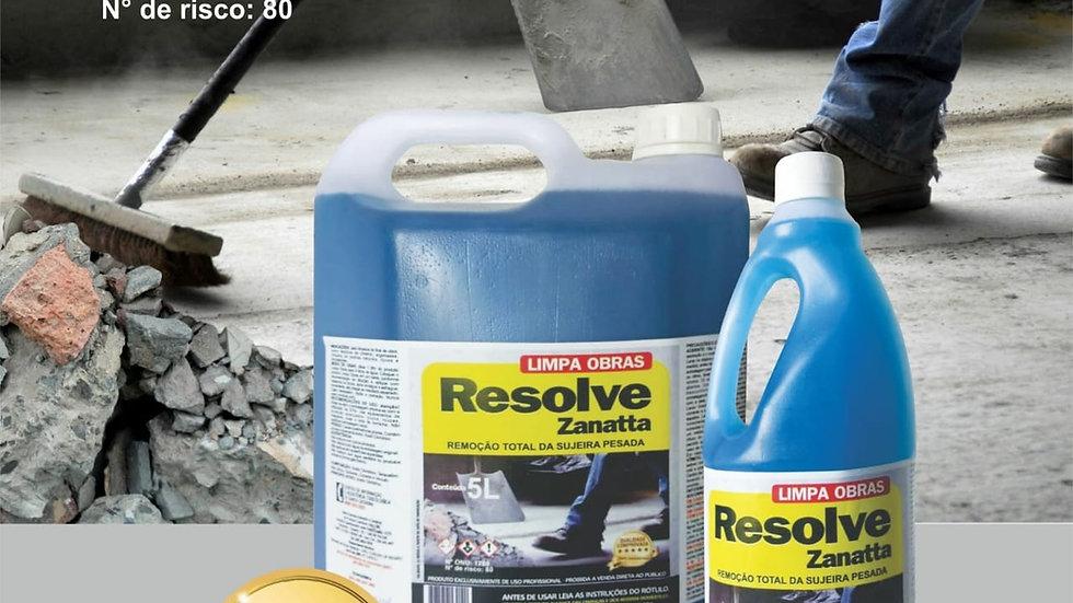 Limpa Obras Resolve Zanatta 5lts