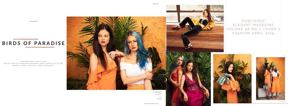 Published in Elegant Magazine