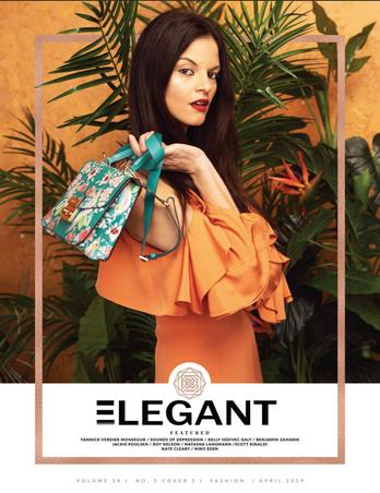 Cover Elegant Magazine April 2019