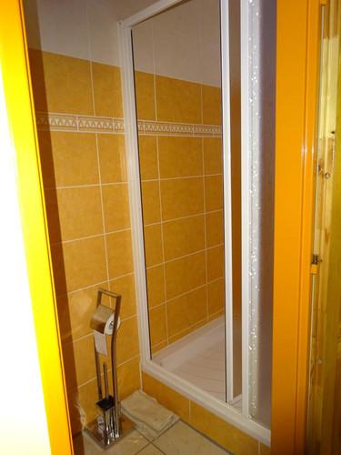 Chalupa Racov - sprchový kout