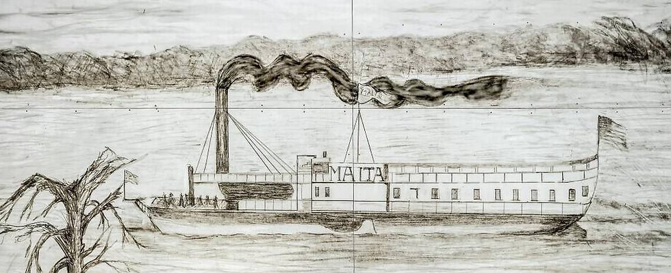 Drawing of the Malta