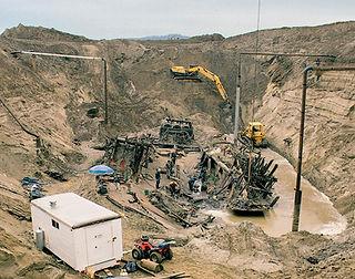 Arabia dig site