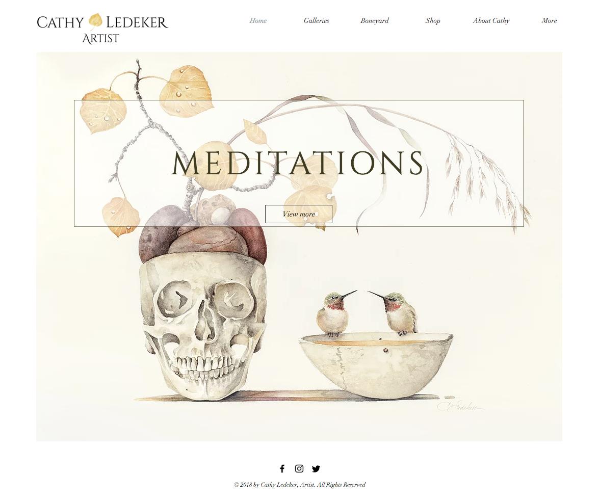 Cathy Ledeker website