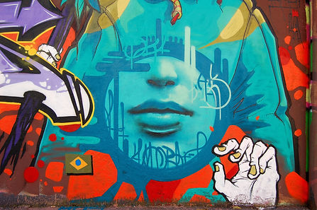 Graffiti colorido