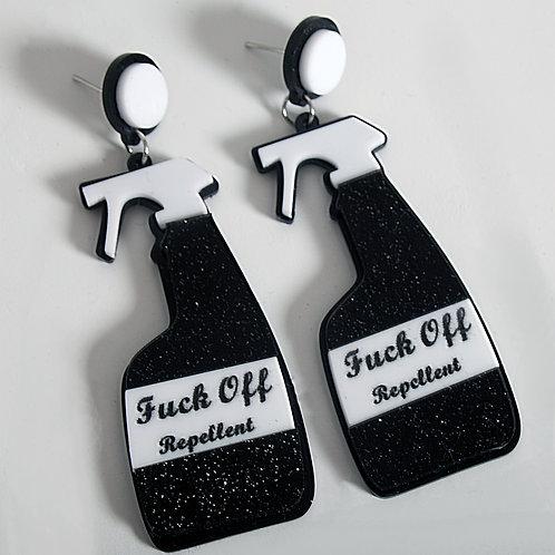 F**K Off Repellent Earrings