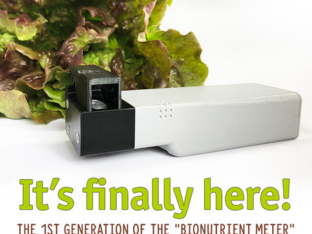 Bionutrient Meter - a game changer?
