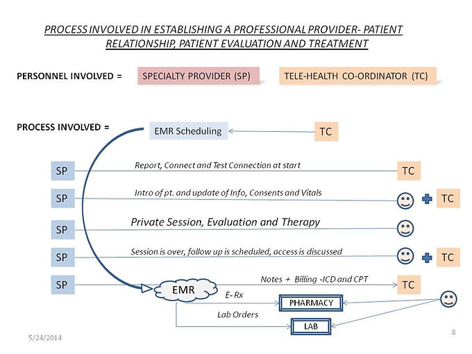 ExplainsTele-Health Process