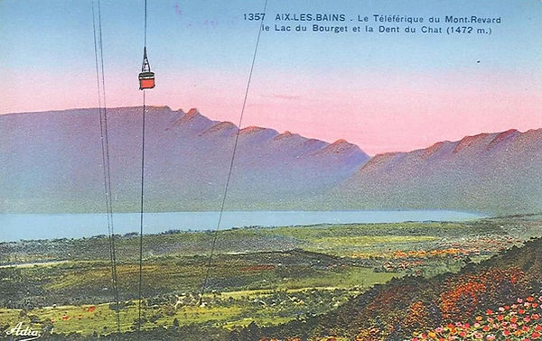 Sentier de la Crémaillère à Aix-les-Bains