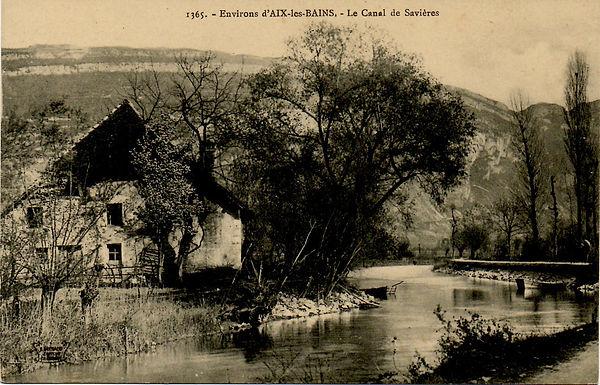 Chanaz - Canal de Savieres