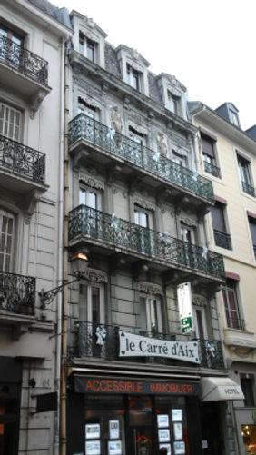 Aix-les-Bains - Rue du Casino